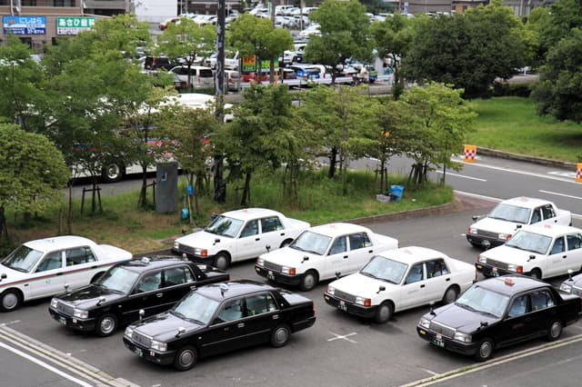 タクシー事業者による有償貨物運送について